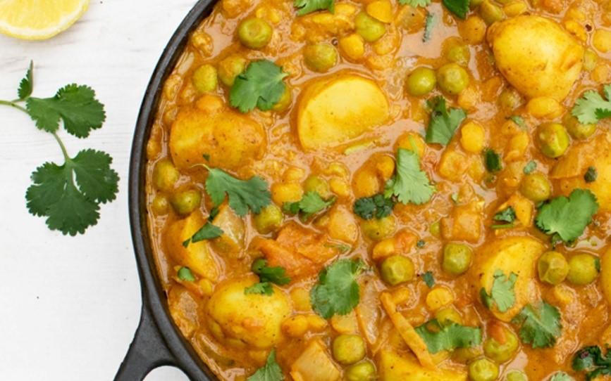 pea-curry